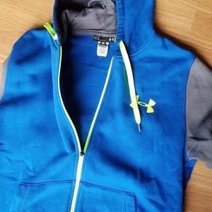 Zippered Under Armour Sweatshirt, Size L